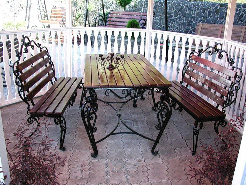 Кованая мебель, фото № 12