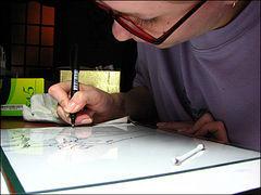 Маленький мастер-класс или о том, как это делаю я. (Роспись по стеклу для начинающих), фото № 12