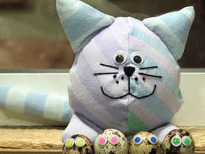 Кот игрушка или о том, как я не умею шить)) | Ярмарка Мастеров - ручная работа, handmade