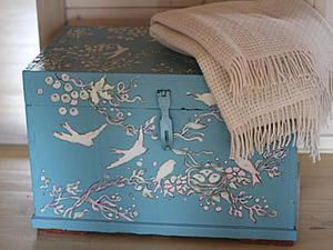 Painting your Granny's Chest / Wardrobe / Bedside Table. Livemaster - handmade