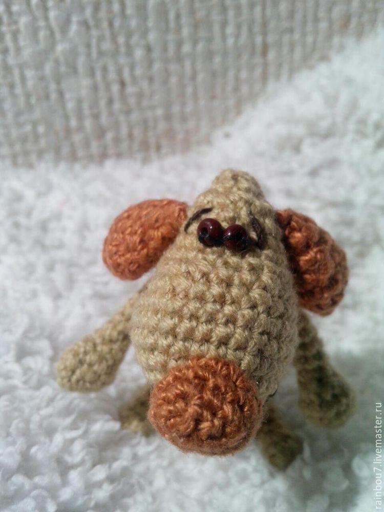вязание собаки