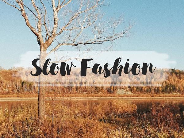 Slow Fashion или «медленная мода»: значение, принципы и особенности