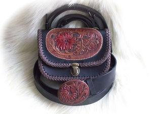 Комплект сумка плюс ремень вместе дешевле.. Ярмарка Мастеров - ручная работа, handmade.