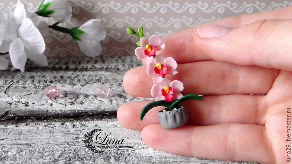 Мастер класс цветы из полимерной глины видео