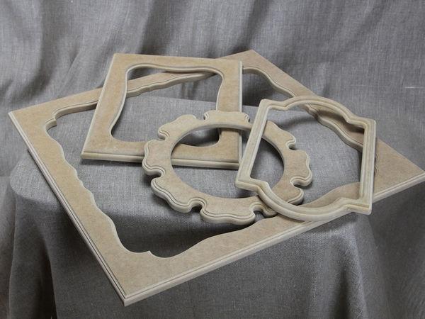 Рамы из мдф для декорирования | Ярмарка Мастеров - ручная работа, handmade