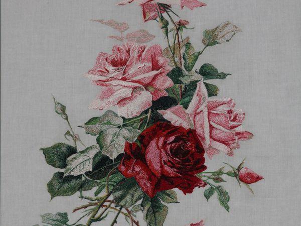 Вышивка и живопись. Цветы моего детства | Ярмарка Мастеров - ручная работа, handmade