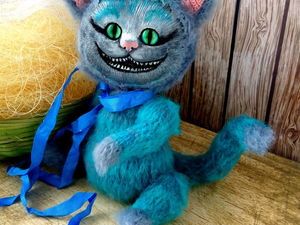 Вяжем чеширского котенка. Ярмарка Мастеров - ручная работа, handmade.
