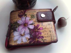 Как я оформляю мои сумки, портмоне и кошельки | Ярмарка Мастеров - ручная работа, handmade