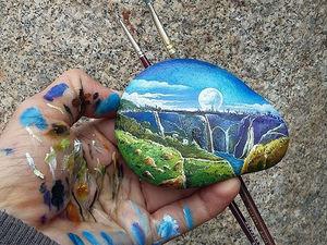 Наскальная живопись: 25 мини-пейзажей Erdal Parlakli. Ярмарка Мастеров - ручная работа, handmade.
