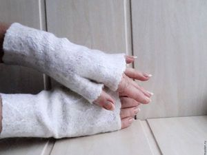 Сезонные скидки на митенки и рукавички. Ярмарка Мастеров - ручная работа, handmade.