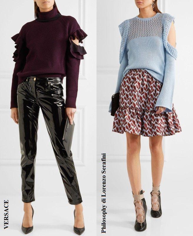 дизайнеры, вяжем свитер