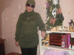 Заказ на свитер из кид мохера с шелком продлевается! | Ярмарка Мастеров - ручная работа, handmade