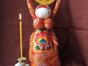 Кукла Домашняя Масленица. Ярмарка Мастеров - ручная работа, handmade.