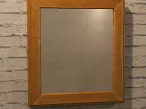 Аукцион №6  Шкафчик для колец с зеркалом. Ярмарка Мастеров - ручная работа, handmade.