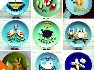 Творческие веселые завтраки для детей. Ярмарка Мастеров - ручная работа, handmade.