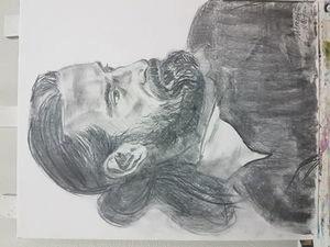 Портрет с натуры. Ярмарка Мастеров - ручная работа, handmade.
