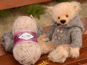 Толщина пряжи для беспроигрышного тедди вязания. | Ярмарка Мастеров - ручная работа, handmade