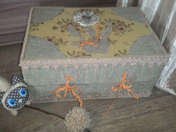 Декорируем подарочную коробку при помощи подручных средств | Ярмарка Мастеров - ручная работа, handmade