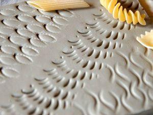 Макаронные изделия как инструмент керамиста | Ярмарка Мастеров - ручная работа, handmade