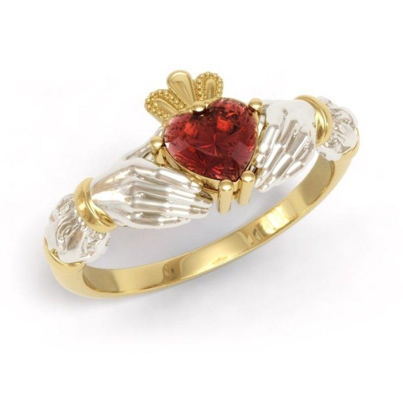 кольцо с турмалином, огранка сердце