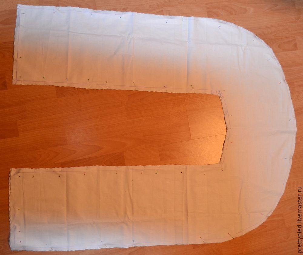 чехол на подушку, для беременной