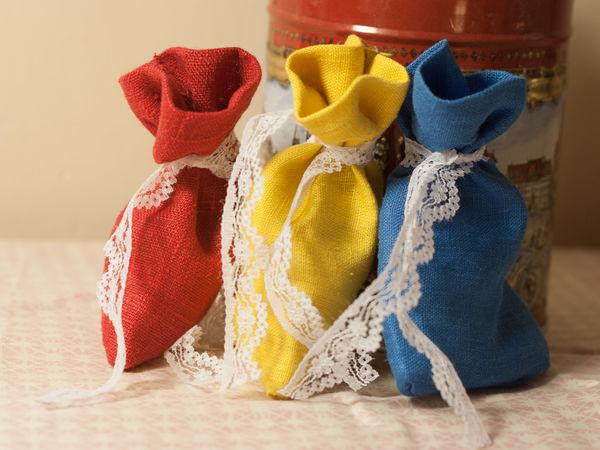 Скидки 10-30% на некоторые мешочки   Ярмарка Мастеров - ручная работа, handmade