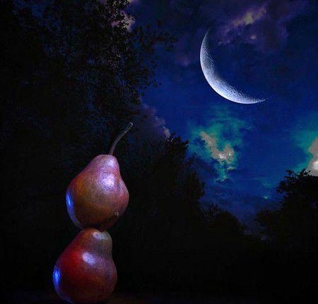 Что, если расстояние до Луны выразить в грушах?..