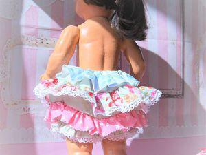 Шьем штанишки-бумеры для куклы. Ярмарка Мастеров - ручная работа, handmade.