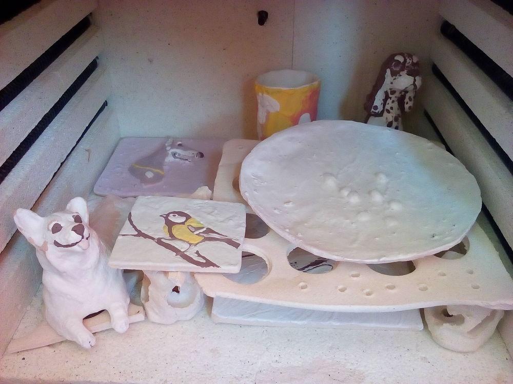 глазури, печь, обжиг керамики