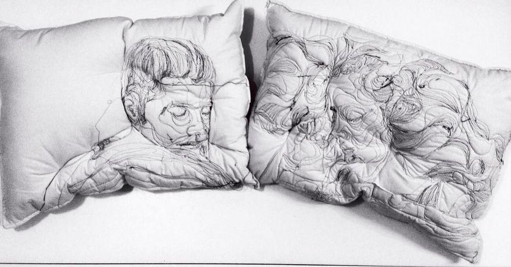 Погруженные в сон: вышивка на подушках Maryam Ashkanian, фото № 6