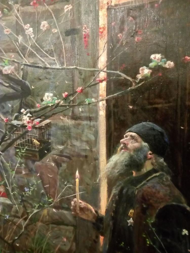 рыженко павел художник картины серафим