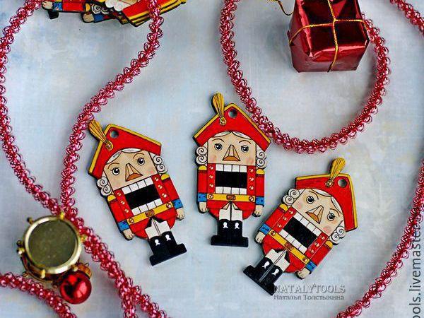 конфета щелкунчик | Ярмарка Мастеров - ручная работа, handmade
