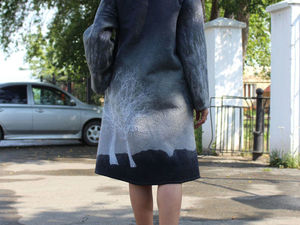 Новое пальто на начало осени!!!!. Ярмарка Мастеров - ручная работа, handmade.