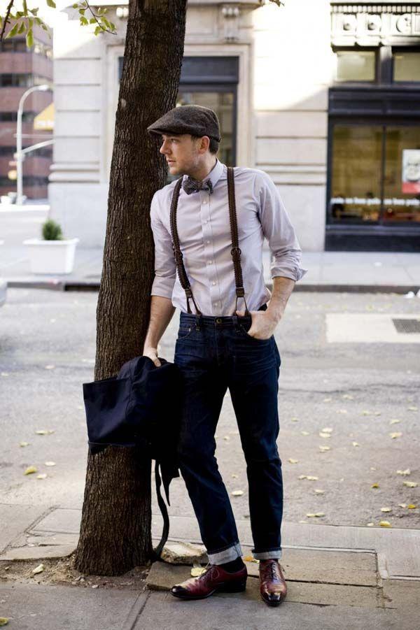 подтяжки, мужские подтяжки, мужской стиль, подтяжки из кожи, офисный стиль, офисный дресс код, с чем носить подтяжки
