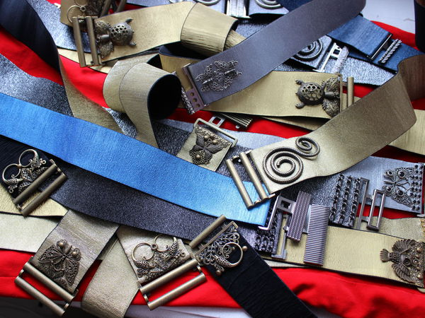 Разные застежки для пояса-резинки, высотой 90мм, 95-100мм и выше на выбор | Ярмарка Мастеров - ручная работа, handmade
