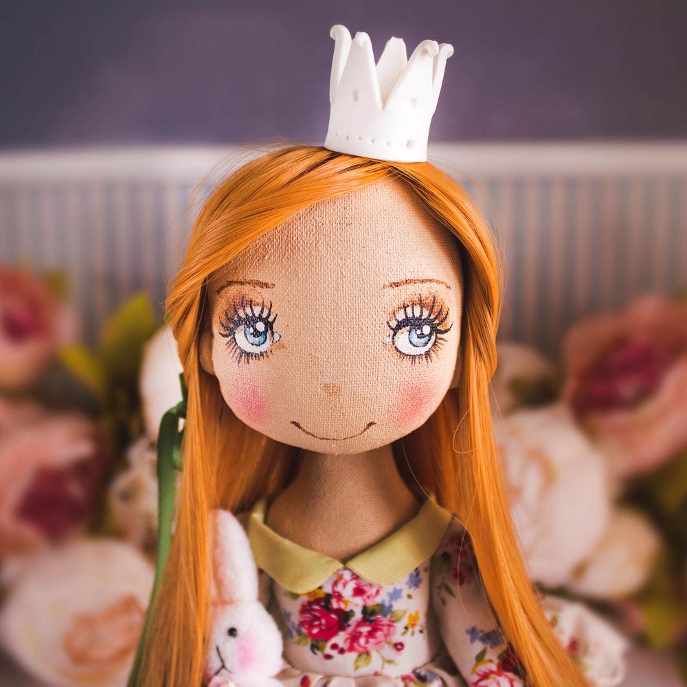 купить текстильная кукла, подарок на день рождение