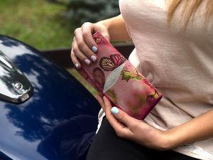 Готовимся к празднику! Кошельки женские из кожи морского ската со скидкой! | Ярмарка Мастеров - ручная работа, handmade