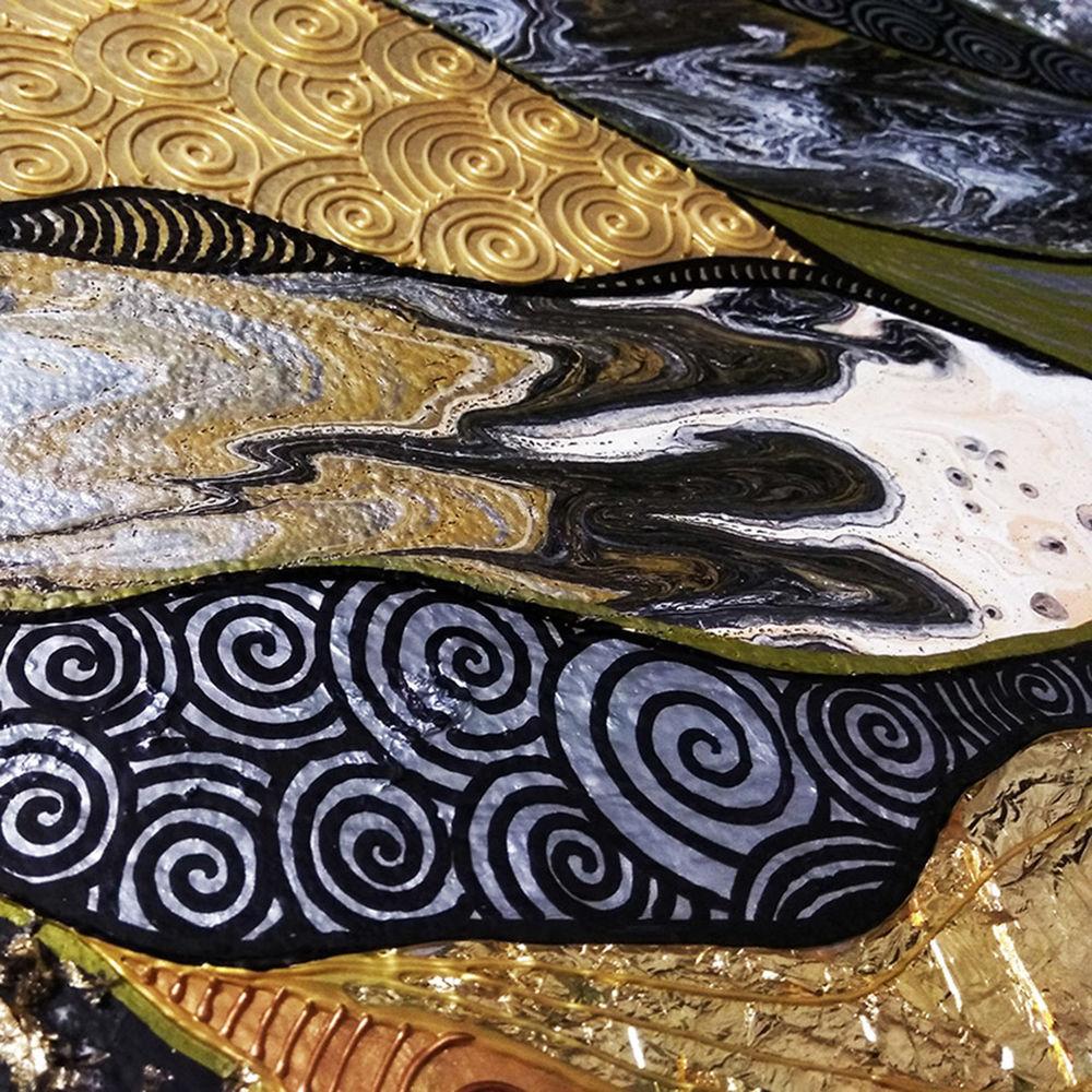 густав климт, картина для интерьера, талант