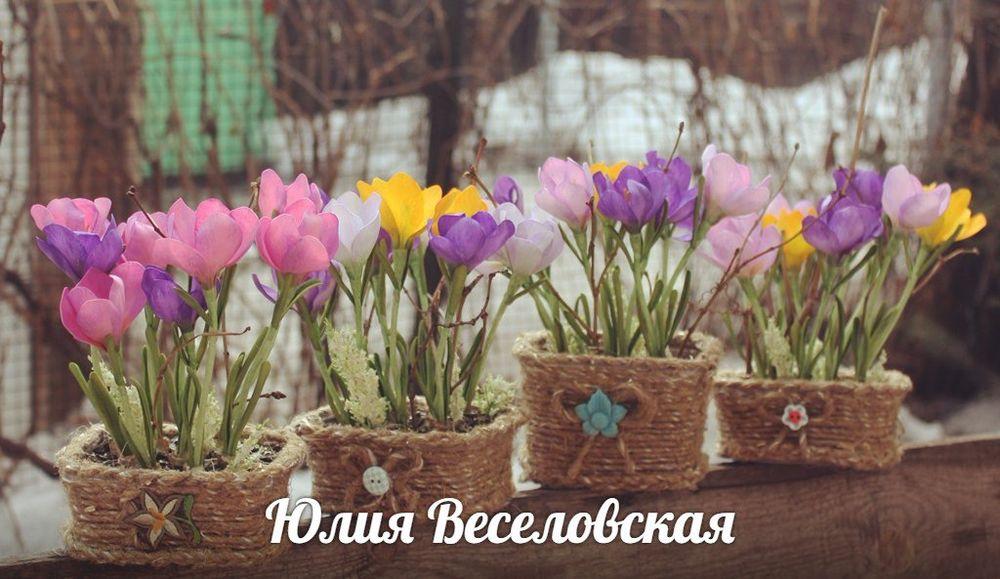 подснежники из фоамирана, цветы к 8 марта