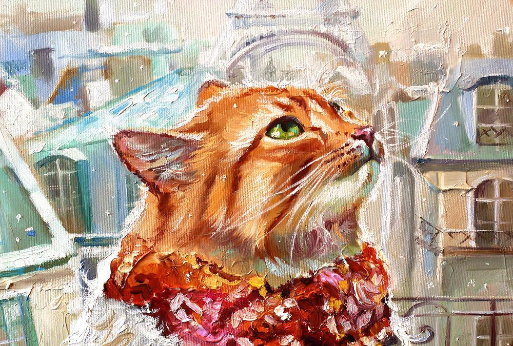 открытки с котами