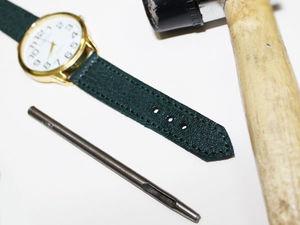 Изготовление ремешка для часов из натуральной кожи. Ярмарка Мастеров - ручная работа, handmade.