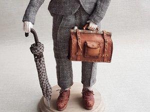 Делаем зонтик-трость для куклы. Ярмарка Мастеров - ручная работа, handmade.