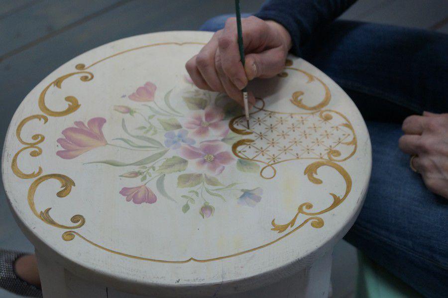обучение росписи, мастер-класс