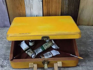 Сказка о желтом чемоданчике | Ярмарка Мастеров - ручная работа, handmade
