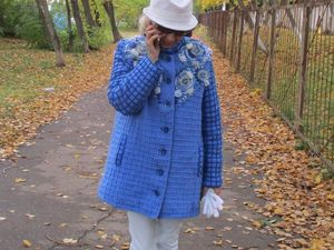 """Пальто """"Снегурочка"""". Ярмарка Мастеров - ручная работа, handmade."""