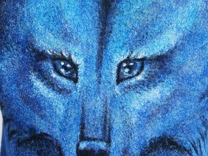 """Двухсторонний жилет """"Волчица"""". Ярмарка Мастеров - ручная работа, handmade."""