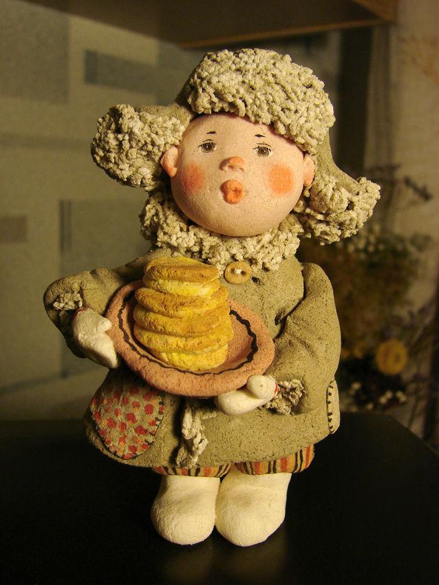 Кукла своими руками из соленого теста