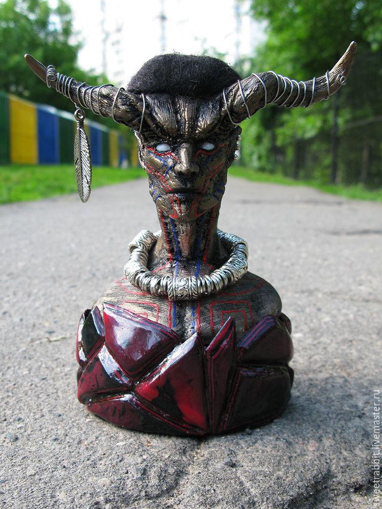 статуэтка, sephirothart