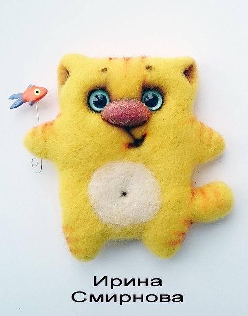 валяный кот