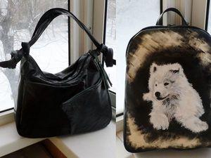 Акция!!!Кожаная сумка и рюкзак всего по 4500руб!. Ярмарка Мастеров - ручная работа, handmade.